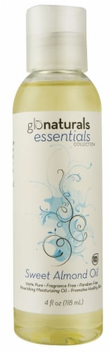 Vitacost - Glonaturals Essentials Collection Sweet Almond Oil Perspective: front