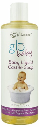 Vitacost - globaby  Baby Liquid Castile Soap Unscented Perspective: front