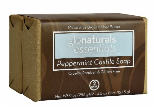 Vitacost Glonaturals Essentials Collection Peppermint Castile Soap Perspective: front