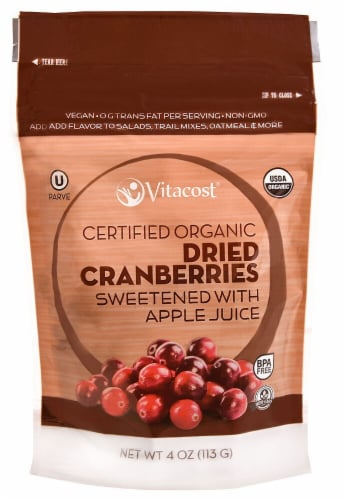 Vcost Dried Cranberries S Perspective: front