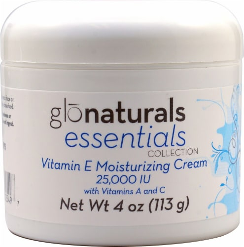 Vitacost - Glonaturals Essentials Collection Vitamin E Moisturizing Cream 25000 IU Perspective: front