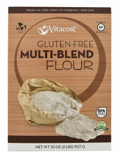 Vitacost Multi-Blend Flour Perspective: front