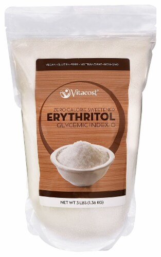 Vitacost  Erythritol Perspective: front