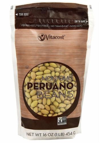 Vitacost Non-GMO Peruano Beans Perspective: front