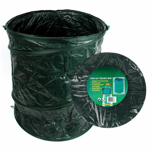 Pop-Up Trash Bin - 22 inch D x 27 inch H Perspective: front
