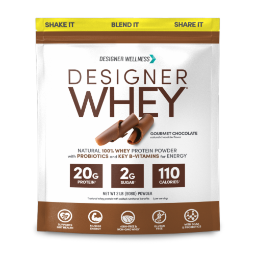 Designer Whey Designer Whey Gourmet Chocolate Perspective: front