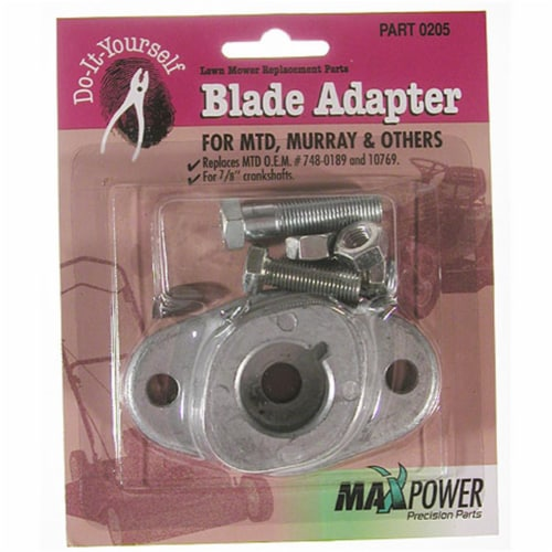 Maxpower Precision Parts Blade Adapter Kit MTD Pack  330205 Perspective: front
