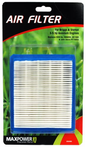 MaxPower Precision Parts Air Filter for 3-5 HP Quantum Engines Perspective: front