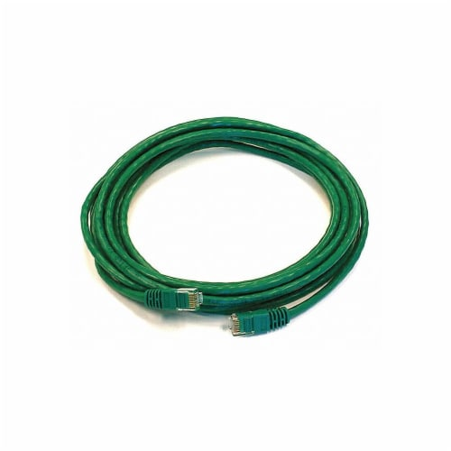 Monoprice Patch Cord,Cat 5e,Booted,Green,14 ft.  2146 Perspective: front