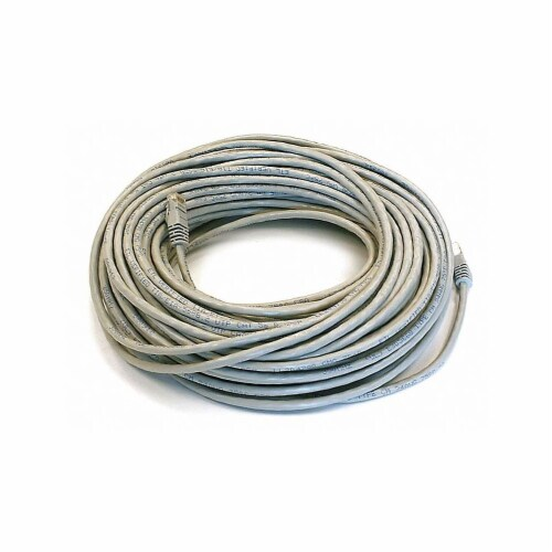 Monoprice Patch Cord,Cat 6,Booted,Gray,100 ft.  2328 Perspective: front