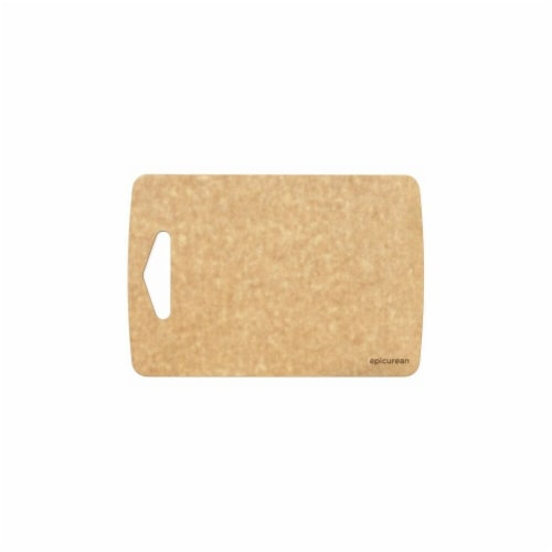 Epicurean Prep Series Wood Fiber Cutting Board, Natural - 9.5 x 6.5 x 0.18 in. Perspective: front