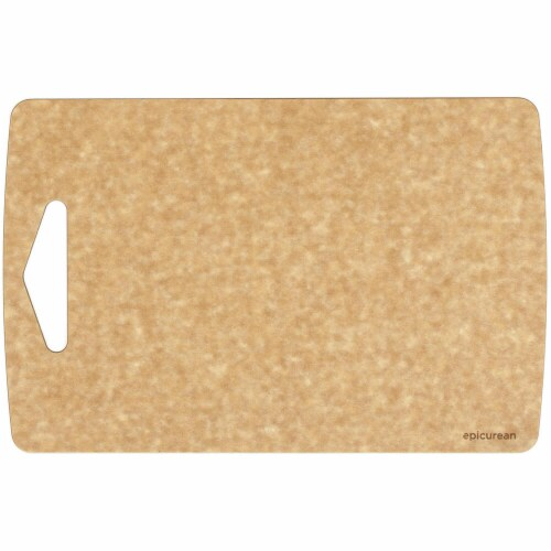 Epicurean Prep Cutting Board, Natural - 13 x 8.5 x 0.18 in. Perspective: front