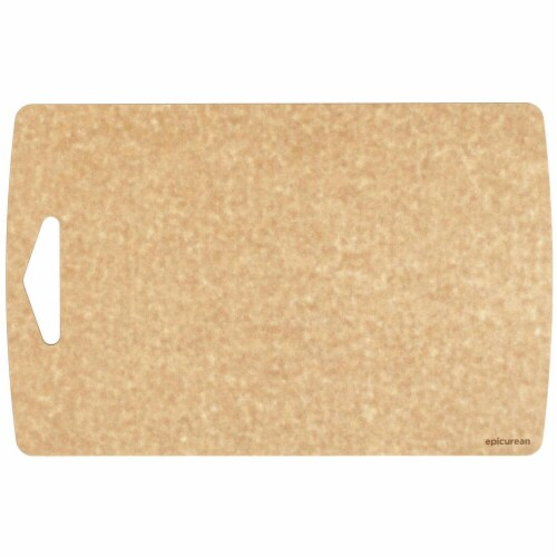 Epicurean Prep Cutting Board, Natural - 16 x 10 x 0.18 in. Perspective: front