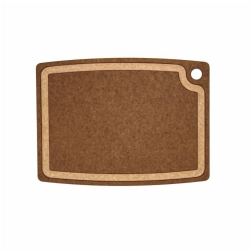 Epicurean Gourmet Series Cutting Board, Nutmeg & Natural - 14.5 x 11.25 x 0.37 i Perspective: front