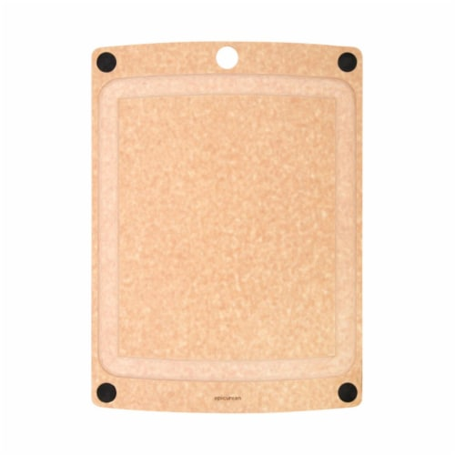 Epicurean 6502132 13 x 17.5 in. Natural Beige Wood Cutting Board - Case of 4 Perspective: front