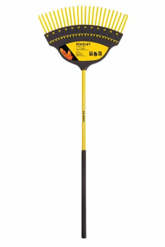 Stanley® Accuscape Deluxe Poly Rake Perspective: front