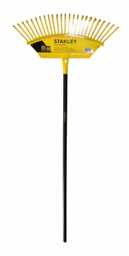 Stanley® Accuscape Steel Lawn Rake Perspective: front
