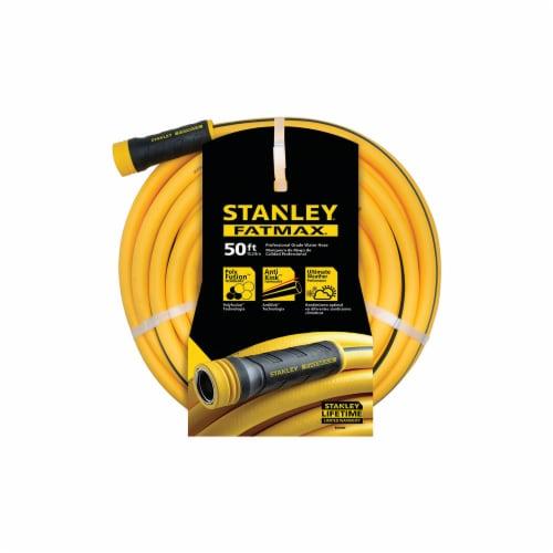 Stanley® Fatmax Professional-Grade Garden Hose - Yellow Perspective: front