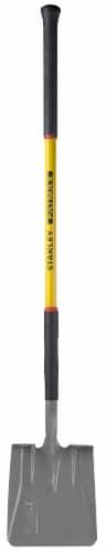 Stanley® Fatmax Fiberglass Handle Square Head Shovel Perspective: front