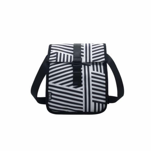 Built Crosstown Memphis Stripe Lunch Bag Perspective: front