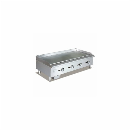 Apexra APMG-48NG 48 in. Manual Griddle, 120000K BTU NG Perspective: front
