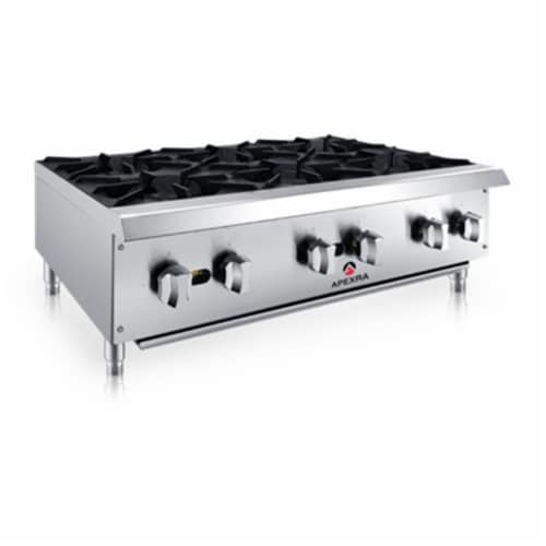 Apexra APRB-36NG 36 in. Radiant Charbroiler - 10500K BTU NG Perspective: front
