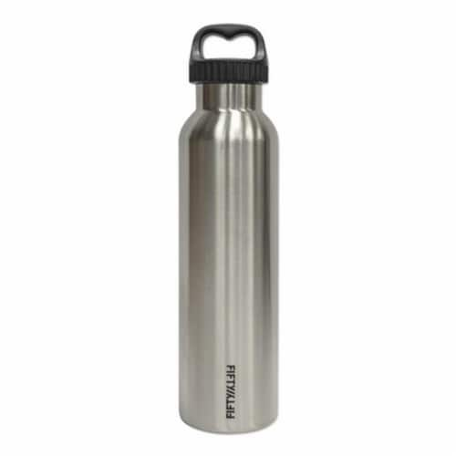 Fifty-Fifty V25002SS0 Stainless Steel Vacuum-Insulated Bottle, 25oz Perspective: front