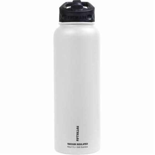 Icy-Hot Hydration V34001PU0 34 oz Royal Purple Vacuum Insulated Bottle - 3 Finger Grip Lid Perspective: front