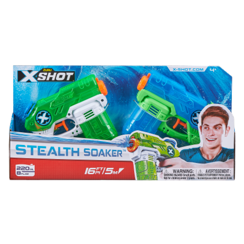 X-Shot-Double Small Stealth Soaker Perspective: front