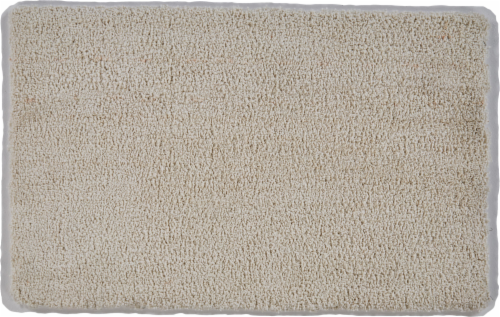 Feizy Micro Cotton Accent Rug - Ivory Perspective: front