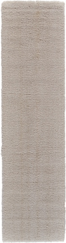 Feizy Micro Cotton Floor Runner - Ivory Perspective: front