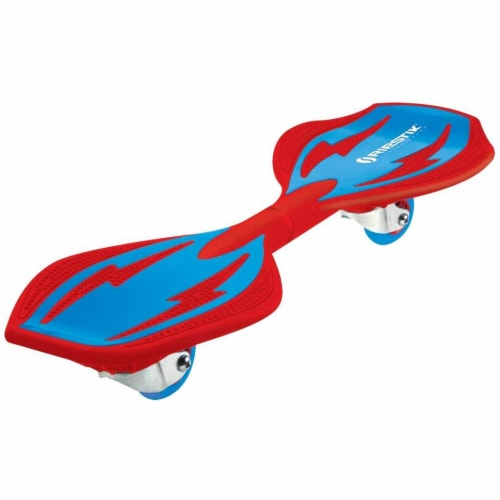 Razor RipStik Brights 2 Wheel Twisty 360 Degree Caster Board, Red and Blue Perspective: front