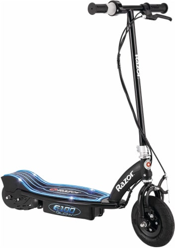 Razor® E100 Glow Electric Scooter Perspective: front