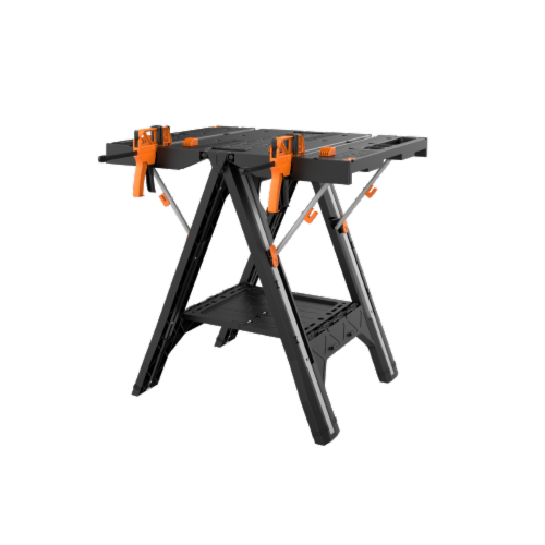 Worx WX051 Pegasus with (2) quick clamps and (4) clamp dogs Perspective: front