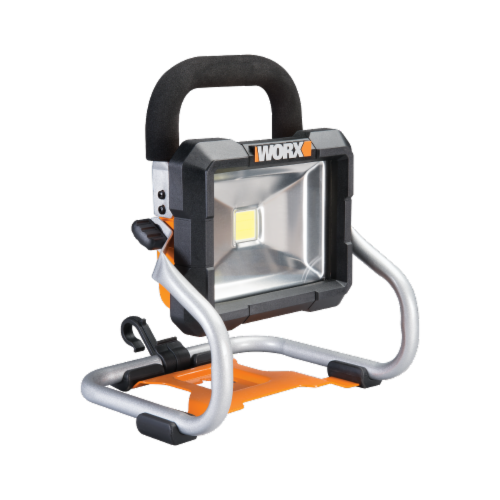 Worx WX026L.9 20V Work Light, Tool Only Perspective: front
