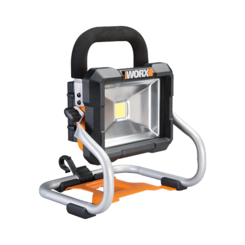 Worx WX026L POWER SHARE 20-Volt Li-Ion Work Light (Battery and Charger Included) Perspective: front