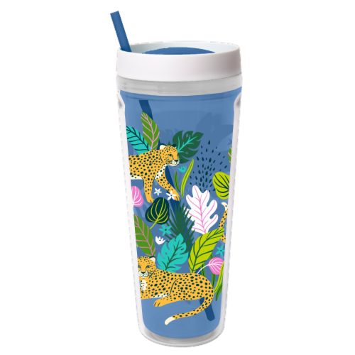 Cool Gear Printed Callisto Chiller Cheetahs Thermal Beverageware Perspective: front