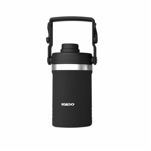 Igloo Carry Handle Jug - Black Perspective: front