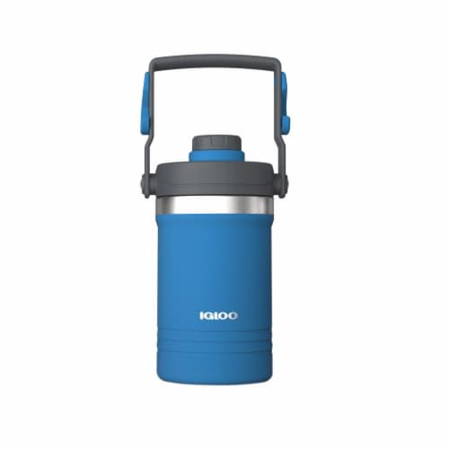 Igloo Carry Handle Jug - Blue/Gray Perspective: front