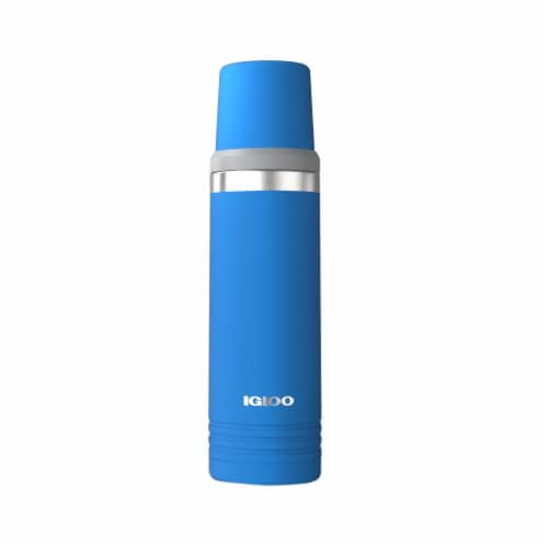 Igloo Thermos - Blue Perspective: front