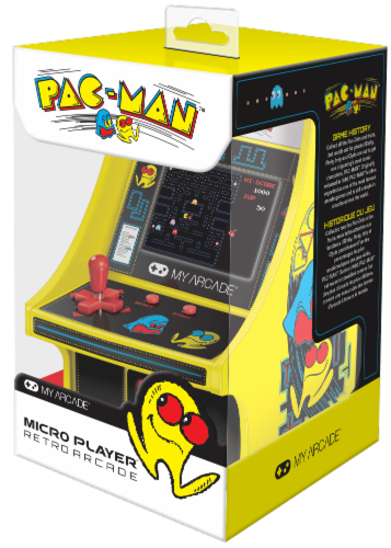 DreamGear Collectible Retro Pac-Man Micro Player Perspective: front