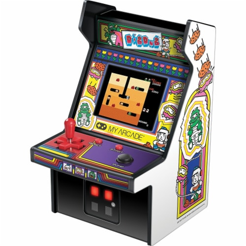 DreamGear DG-DGUNL-3221 6 in. Collectible Retro Dig Dug Micro Playe Perspective: front