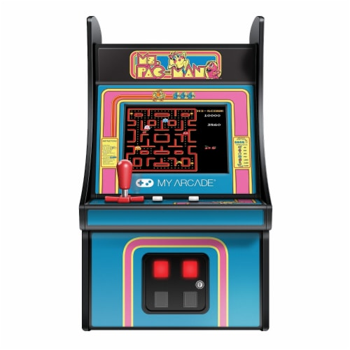 dreamGEAR DGUNL3230 My Arcade Ms Pac-Man Micro Player Video Game Perspective: front