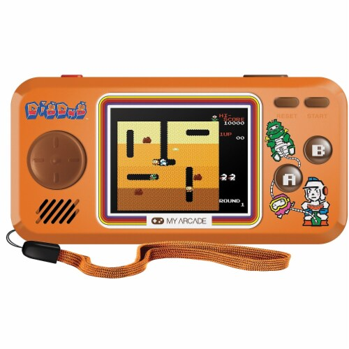 dreamGEAR My Arcade Dig Dug Pocket Player Perspective: front