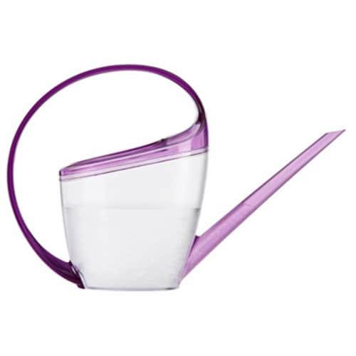 Scheurich 51832 47 oz. Loop Watering Can - Violet Perspective: front