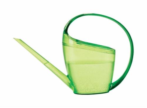 Scheurich Loop Green 0.4 gal. Plastic Watering Can - Case Of: 1; Perspective: front