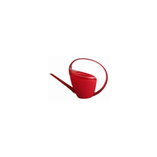 Scheurich 56639 47 oz. Loop Watering Can - Red Perspective: front