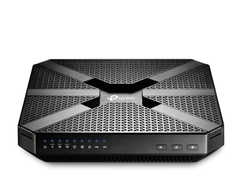 TP-Link AC4000 MU-MIMO Tri-Band Wi-Fi Router Perspective: front
