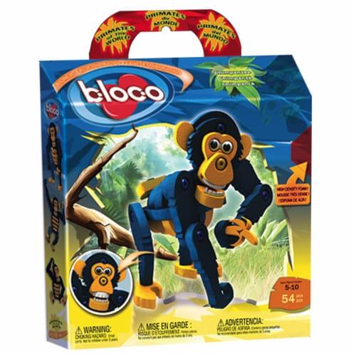 Bloco - Primates of the World Chimpanzee Perspective: front