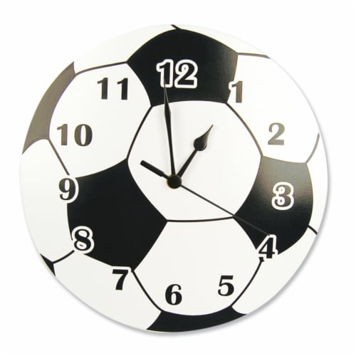 Trend Lab Soccer Ball Wall Clock Perspective: front